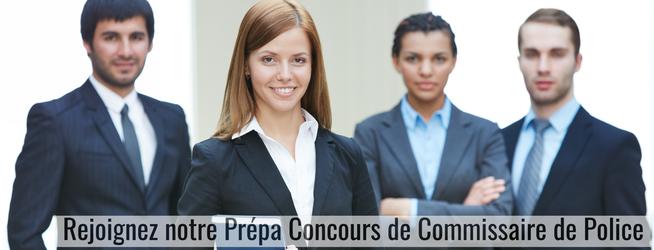 Les préparations aux concours de Commissaire de Police (Toulouse, Paris, Lyon, Bordeaux)