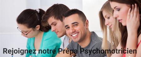 Préparation psychomotricien (Paris, Toulouse, Lyon et Bordeaux)