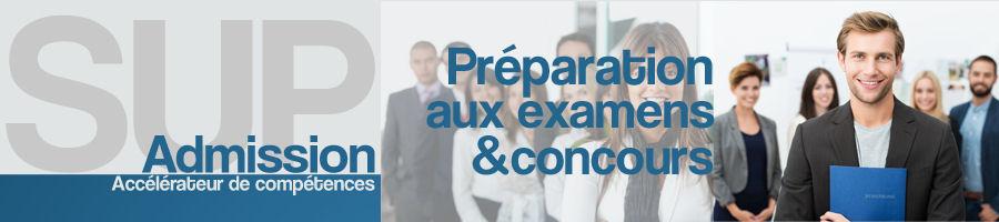 Sup'Admission : préparation aux concours et examens