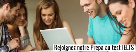 Préparation au test IELTS (Toulouse, Paris, Lyon, Bordeaux)